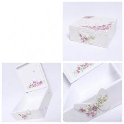 decoupage-pudełko-biało-różowe